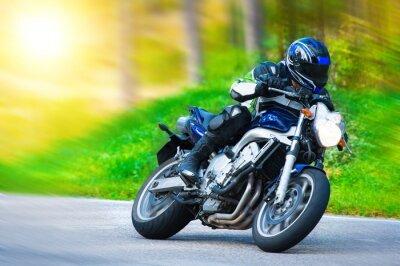 Papiers peints Courses de motos dynamiques