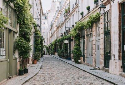 Papiers peints Cozy street in Paris, France
