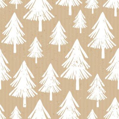 Craft Paper Christmas Pattern