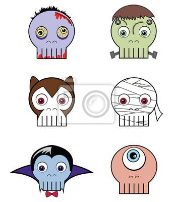 crânes Monster