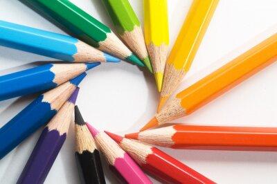 Papiers peints Crayon de couleur