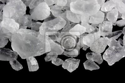 Papiers peints cristaux blancs de sel gemme pour la fabrication de la glace et de refroidissement