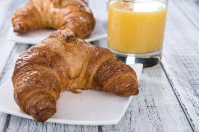 Papiers peints Croissants au four