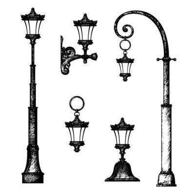 lampadaire dessin