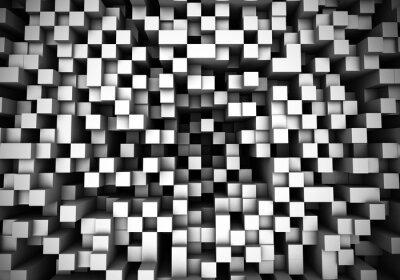Papiers peints Cube extrusion