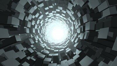 Papiers peints Cube, résumé, wormhole