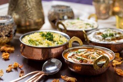 Papiers peints Cuisine indienne