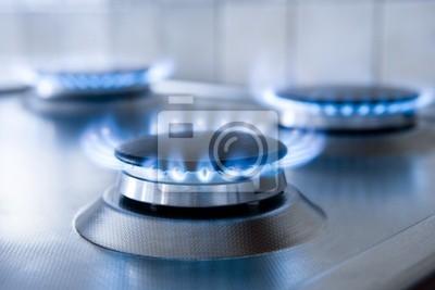 Papiers peints cuisinière à gaz