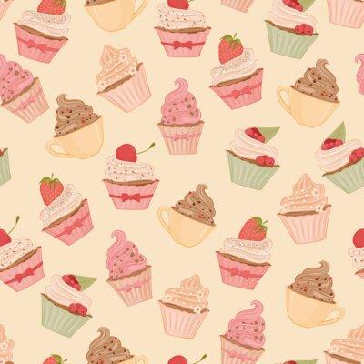 Papiers peints Cupcakes