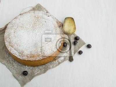 Custard tarte aux cerises
