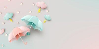 Papiers peints Cute umbrella for monsoon season