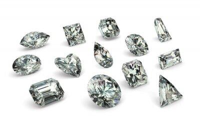 Papiers peints Cuts Diamant