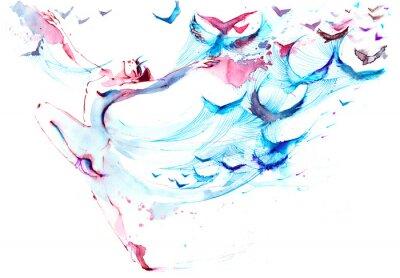 Papiers peints danse