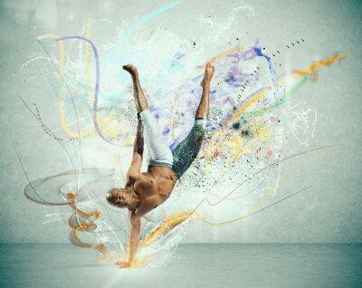 Papiers peints Danseur moderne