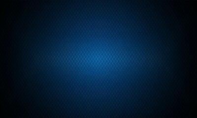 Papiers peints Dark blue background. Dark metal texture steel background. Navy blue carbon fiber texture. Web design template vector illustration EPS 10.