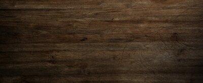 Papiers peints Dark wood background, old black wood texture for background