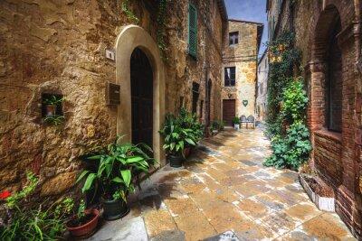 Papiers peints De beaux coins et recoins du village médiéval italien