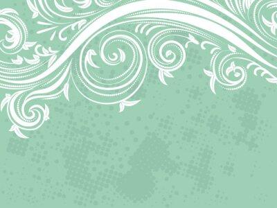 Papiers peints Décoratif, floral, fond
