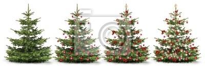 Décorer l'arbre de Noël