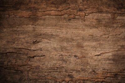Papiers peints Décrochage du bois avec des termites en bois, vieux fond en bois texturé foncé grunge, la surface de la vieille texture du bois brun