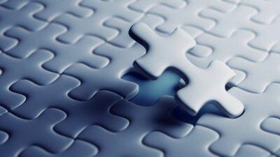 Papiers peints Dernière pièce d'un puzzle