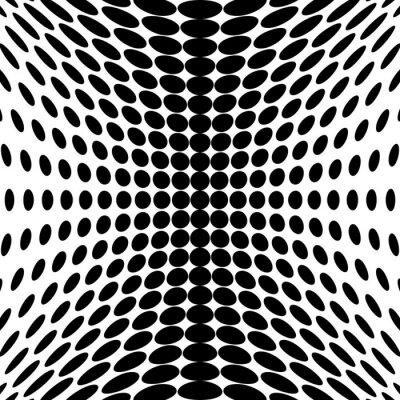 Papiers peints Design monochrome dots background