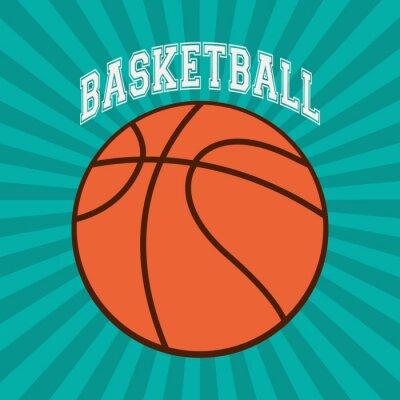 Papiers peints Design sportif de basket-ball