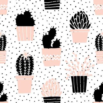 Dessin, cactus, dessin