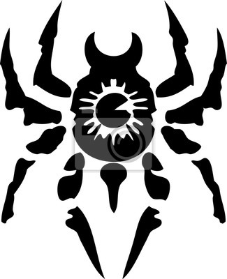dessins de tatouage tribal 14 spider 1 papier peint. Black Bedroom Furniture Sets. Home Design Ideas