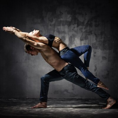 Papiers peints Deux danseurs