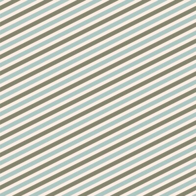 Diagonal stripes abstract modern seamless pattern. Blue gray repeat background for wrap, textile and print.