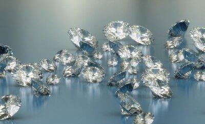 Papiers peints Diamants