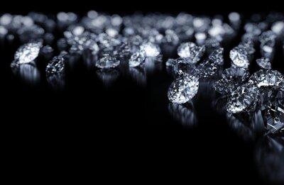 Papiers peints diamants fond