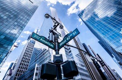 Papiers peints Direction des signes à New York