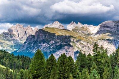 Papiers peints Dolomites Italie - Val Gardena - Passo Sella