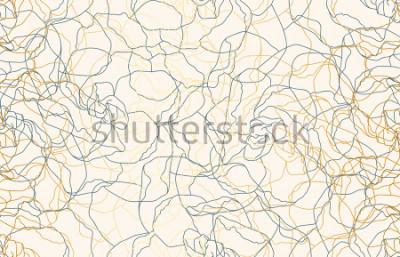 Papiers peints Doodle vintage sans soudure imprimable répéter de fond. Papier peint, illustration raster en super haute résolution.