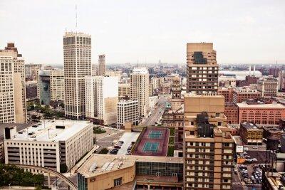 Papiers peints Downtown Detroit
