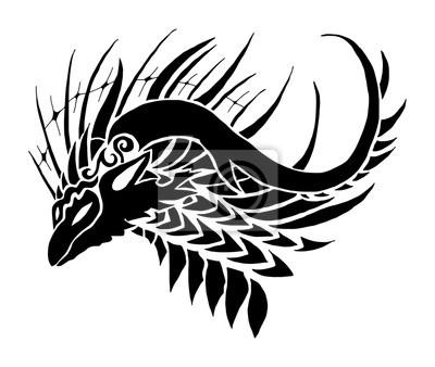 Dragon Tribal Tatouage dragon tribal tatouage papier peint • papiers peints dragon