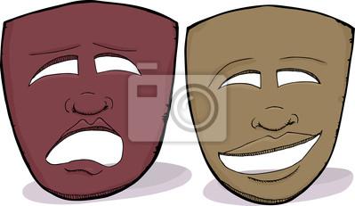 Drame des masques africains