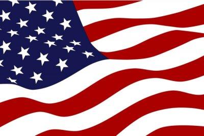Papiers peints Drapeau de l'Amérique