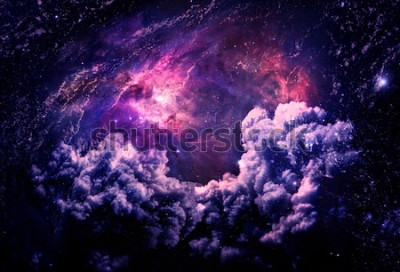 Papiers peints Dreamscape Galaxy - Éléments de cette image fournie par la NASA