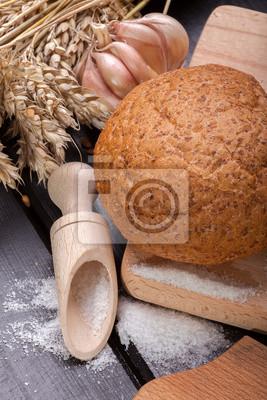 Du pain frais à l'ail