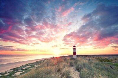 Papiers peints Dunes au phare - Sylt
