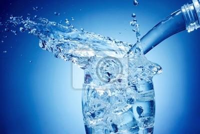 éclaboussures d'eau