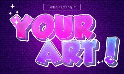 Papiers peints Editable Graffite Text Effects