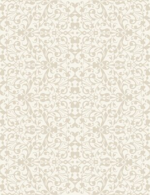 Papiers peints Élégant élégant papier peint floral abstrait. Seamless