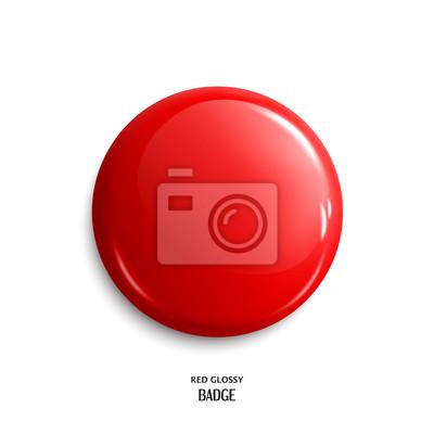 Papiers peints Emballage brillant rouge vierge ou bouton Web. Vecteur.