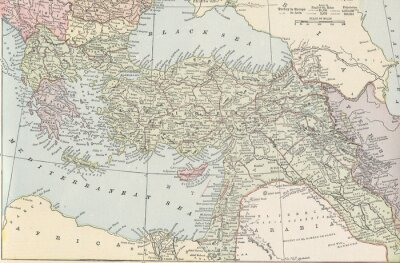 Papiers peints Empire turc vintage