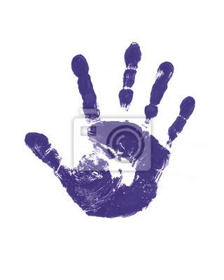Empreinte de la main