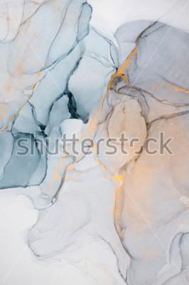 Papiers peints Encre, peinture, résumé. Gros plan de la peinture. Fond de peinture abstraite coloré. Peinture à l'huile très texture. Détails de haute qualité.